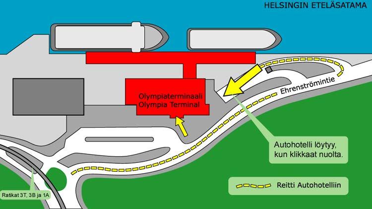 Парковка на терминале Олимпия