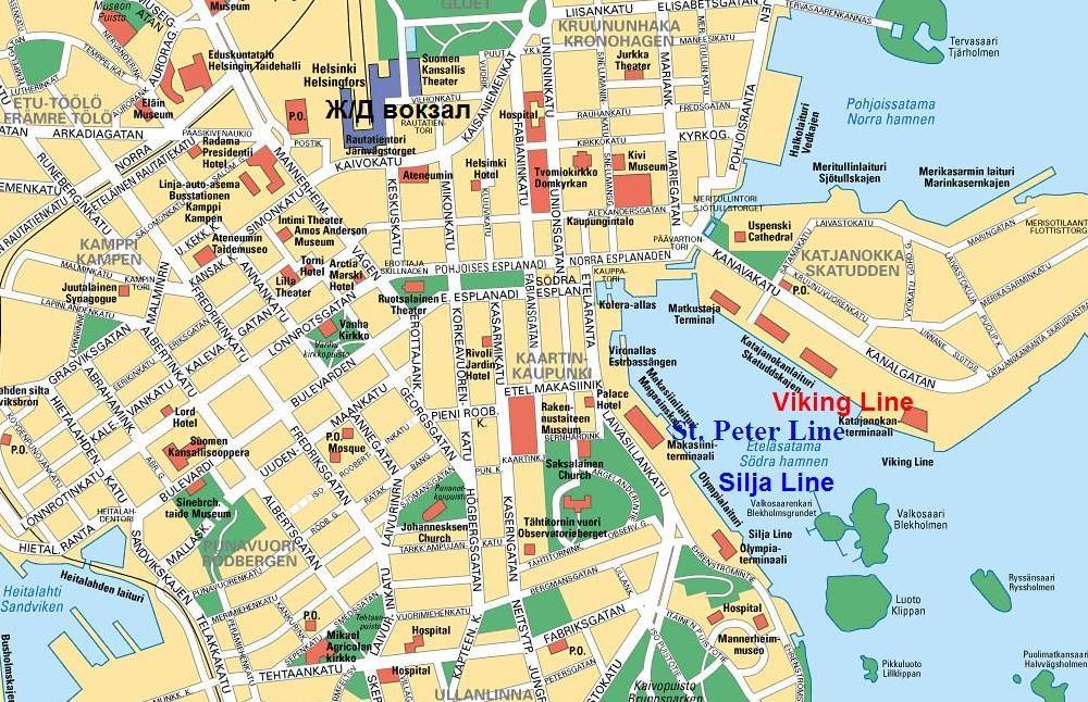 карта хельсинки скачать