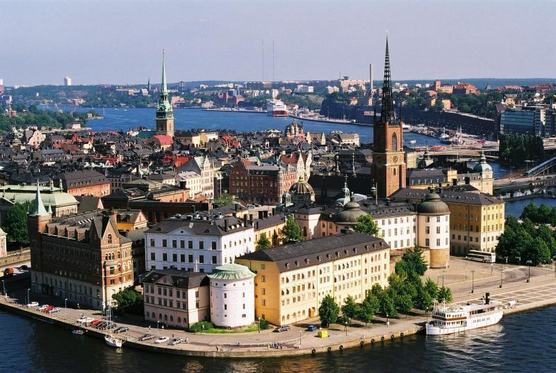 Обзорная экскурсия по Стокгольму и Старому городу. Паромная линия Санкт-Петербург-Стокгольм-Таллинн-Санкт-Петербург с апреля 2011 г. Паром Принцесса Анастасия.
