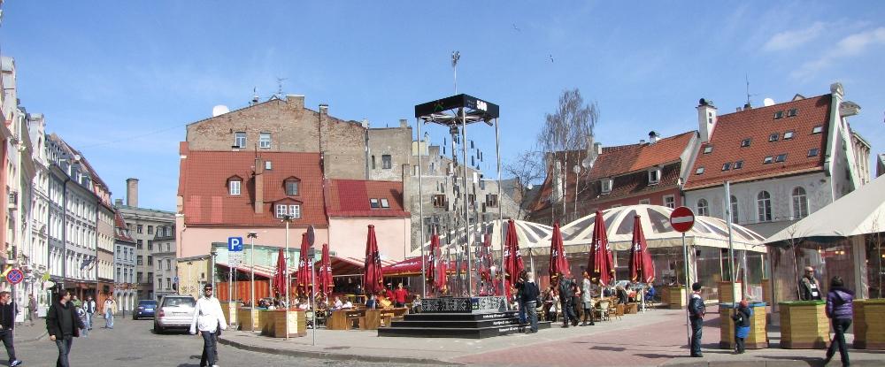 Рига.                   Фото с сайта www.naparome.ru