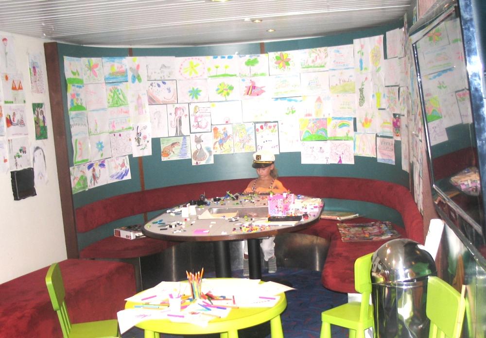 Детский клуб на пароме Принцесса Мария
