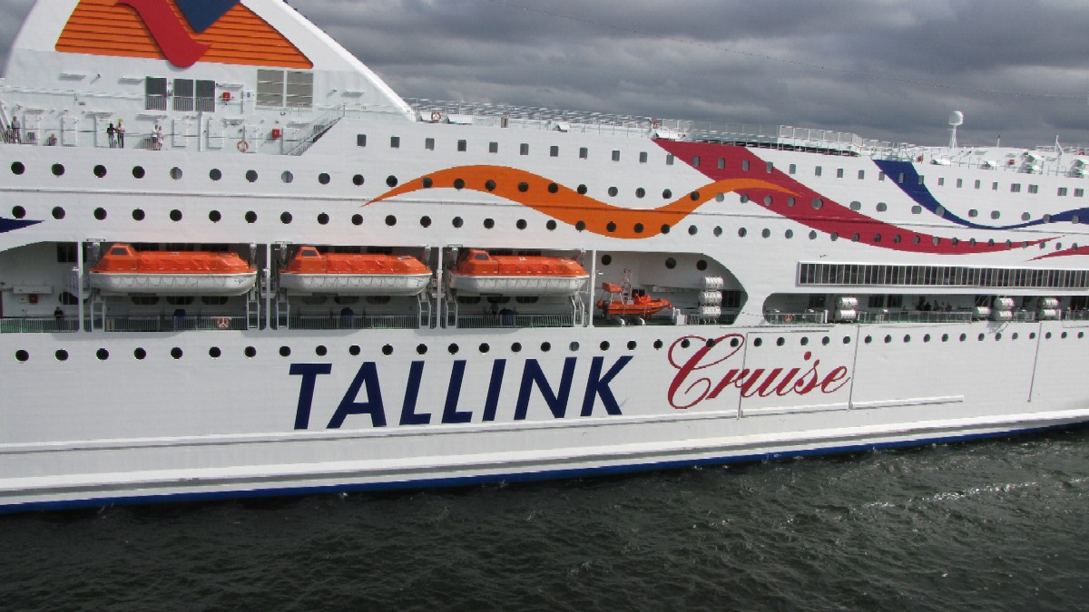 Паром Baltic Queen