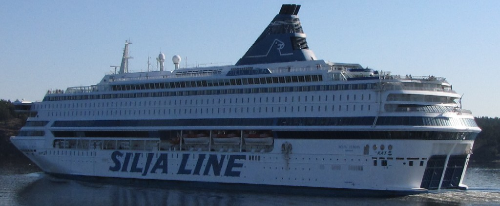 Паром Silja Europa. Паромная компания Tallink Silja Oy. Расписание и цены на сайте  www.NaParome.ru