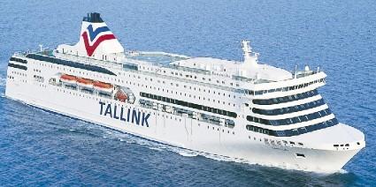 Паром Таллинк Романтика NaParome Tallink Romantika