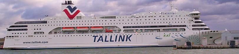 Паромная компания Tallink Silja. Паром Tallink Victoria I.