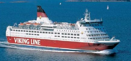 Паром Amorella компании Viking Line. www.NaParome.ru