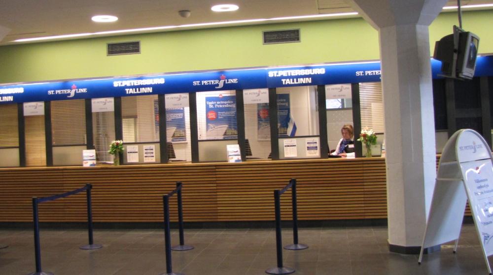 Продажа билетов на паромы St Peter Line в Стокгольме