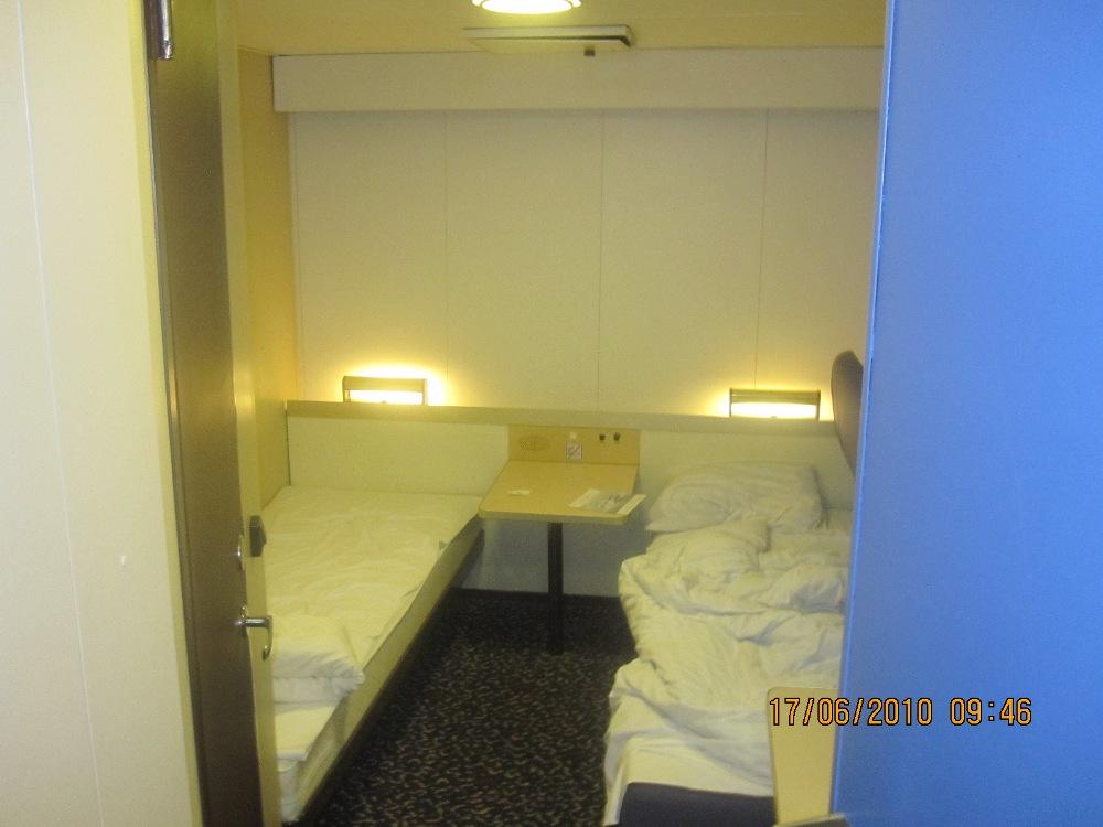 Двухместная каюта B-класса на пароме Принцесса Мария компании St Peter line