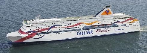 Паром Baltic Queen. Паромная компания Tallink Silja.
