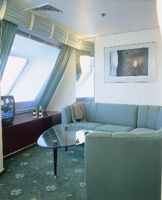 Каюта Suite Паром Таллинк Виктория. www.NaParome.ru  Tallink Victoria I